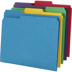 "Pendaflex 1/3 Tab Cut Letter Classification Folder - 8 1/2"" x 11"" - Manila - Assorted - 50 / Box"