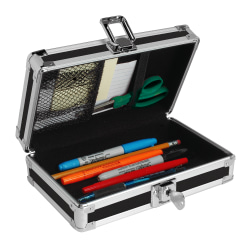 Vaultz™ Locking Pencil Box, Assorted Colors