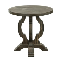 Coast to Coast Orchard Park Accent Table, Brown