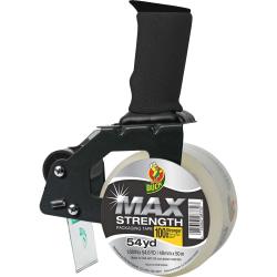 Duck Brand Max Strength Packaging Tape Dispenser Gun - Foam - Clear - 1 Each