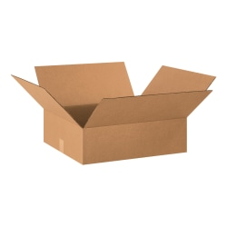 "Office Depot® Brand Corrugated Box, 20"" x 18"" x 6"", Kraft"