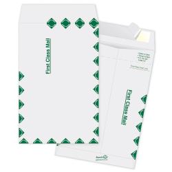 "Quality Park® Tyvek® Envelopes, First Class, 6"" x 9"", White, Box Of 100"