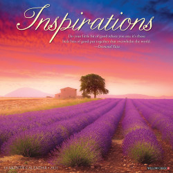 "Willow Creek Press Inspirational Monthly Wall Calendar, 12"" x 12"", FSC® Certified, Inspirations, January to December 2021, 12215"