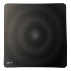 "Allsop® Accutrack Slimline Mouse Pad, 0.16""H x 12.5""W x 11.5""D, Black"