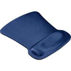 Allsop® Ergoprene Gel Mouse Pad, Blue