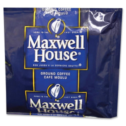 Maxwell House® Ground Coffee, Light Roast, 1.5 Oz, Box Of 42 Packets