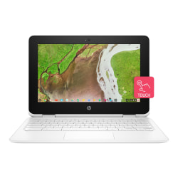 """HP Chromebook x360 11-ae100 11-ae110nr 11.6"""" Touchscreen 2 in 1 Chromebook - 1366 x 768 - Celeron N3350 - 4 GB RAM - 32 GB Flash Memory - Chrome OS - Intel HD Graphics 500 - In-plane Switching (IPS) Technology, BrightView - Bluetooth"""