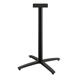"HON Between X-Base, Standing Height - Black X-shaped Base - 41"" Height - Assembly Required"