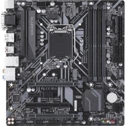Gigabyte B360M-D3H-GSM Desktop Motherboard - Intel Chipset - Socket H4 LGA-1151 - 64 GB DDR4 SDRAM Maximum RAM - UDIMM, DIMM - 4 x Memory Slots - Gigabit Ethernet - 4 x USB 3.1 Port - HDMI - DVI - 6 x SATA Interfaces
