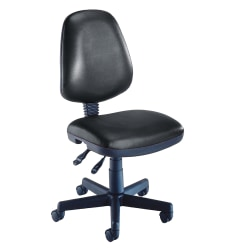 OFM Computer Anti-Microbial Vinyl Task Chair, Black