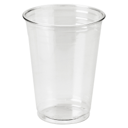 Dixie® Crystal Clear Plastic Cups, 10 Oz., Pack Of 25