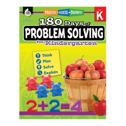 Shell Education 180 Days Of Problem Solving, Grade K