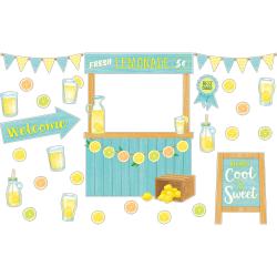 Teacher Created Resources Lemon Zest Lemonade Stand Bulletin Board Set