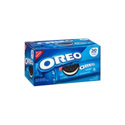 Nabisco Single-Serve Oreo Cookies, 2 Oz, Pack Of 30