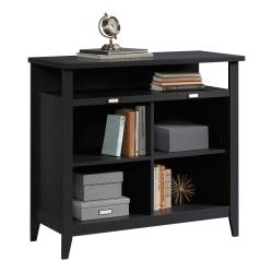 "Sauder® Summit Station 36""H 4-Cube Bookcase, Raven Oak"