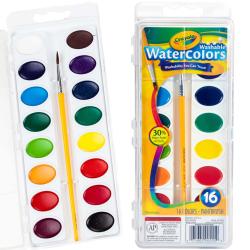 Crayola® Washable Watercolor Paint Set