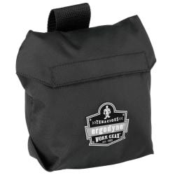 "Ergodyne Arsenal 5182 Half-Mask Respirator Bag, 7""H x 3""W x 8-1/2""D, Black"
