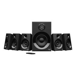 Logitech Z606 5.1 Bluetooth Speaker System - 80 W RMS - Table Mountable, Wall Mountable - 50 Hz to 20 kHz - Surround Sound