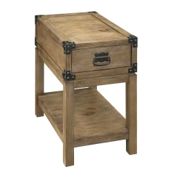 Coast to Coast 1-Drawer Chairside Table, Carmel