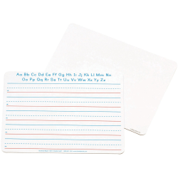 "ChenilleKraft® 2-Sided Writing Whiteboards, 9"" x 12"", White, Pack Of 10"