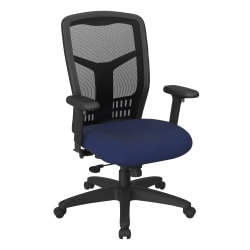 Office Star™ ProGrid Mesh High-Back Managers Chair, Icon Navy