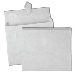 "Quality Park® Tyvek® Expansion Envelopes, 10"" x 13"" x 2"", 18 Lb, White, Carton Of 100"