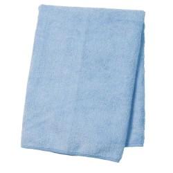 "Wilen Standard Duty Microfiber Cloths, 16"", Blue, Pack Of 12"