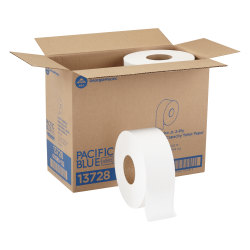 Pacific Blue Select™ by GP PRO Jumbo Jr. 2-Ply Toilet Paper, Pack Of 8 Rolls