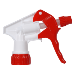 "Continental Multi-Purpose Pro Spray Bottle Triggers, 9 3/4"" Dip Tube, Red/White, Pack Of 200"
