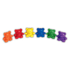 Learning Resources® Baby Bear Counters, Age 3-12, Pack Of 80