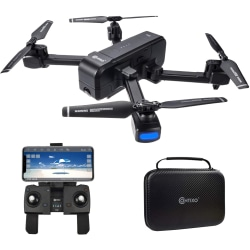 Contixo F22 Aerial Drone - 2.40 GHz - Battery Powered - 1800 ft Operating Range - Wi-Fi
