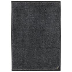 "M + A Matting Colorstar Plush Floor Mat, 48"" x 96"", Midnight Gray"