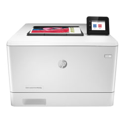 HP Color LaserJet Pro M454dw Wireless Color Laser Printer with Duplex Printing (W1Y45A)