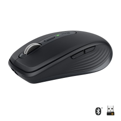 Logitech® MX Anywhere 3 Wireless Compact Performance Mouse, Black, 910-005987