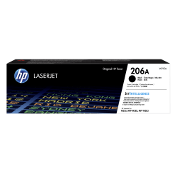 HP 206A Black Toner Cartridge (W2110A)