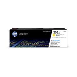 HP 206X High-Yield Yellow Toner Cartridge (W2112X)