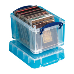 Really Useful Box® 3.0 Liter Box, Clear