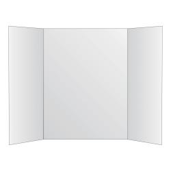 """Royal Brites Tri-Fold Project Board, 28"""" x 40"""", White"""