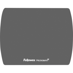 Fellowes Microban® Ultra Thin Mouse Pad - Graphite - Graphite