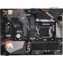 Aorus B360 AORUS GAMING 3 WIFI Desktop Motherboard - Intel Chipset - Socket H4 LGA-1151 - 64 GB DDR4 SDRAM Maximum RAM - DIMM, UDIMM - 4 x Memory Slots - Gigabit Ethernet - Wireless LAN - 4 x USB 3.1 Port - HDMI - DVI - 6 x SATA Interfaces