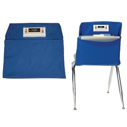 """Seat Sack™ Large Bags, 17"""", Blue, Pack Of 2"""