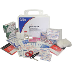 Office Depot® Brand 158-Piece First Aid Kit