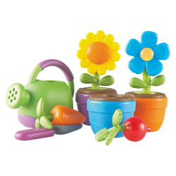 Learning Resources - New Sprouts Grow It! Play Set - 1 / Set - 3 Year to 6 Year - Plastic, Rubberized, Polyvinyl Chloride (PVC)