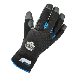Ergodyne ProFlex 817 Reinforced Thermal Utility Gloves, XX-Large, Black