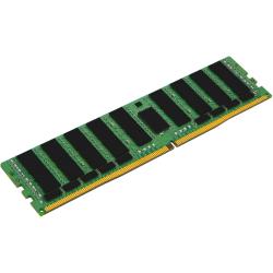 Kingston 64GB DDR4-2666MHz LRDIMM Quad Rank Module - 64 GB (1 x 64GB) - DDR4-2666/PC4-21300 DDR4 SDRAM - 2666 MHz - CL19 - 1.20 V - ECC - 288-pin - LRDIMM - Lifetime Warranty