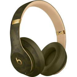 Beats by Dr. Dre Studio3 Wireless Headphones - Beats Camo Collection - Forest Green - Stereo - Mini-phone - Wired/Wireless - Bluetooth - Over-the-head - Binaural - Circumaural - Noise Canceling - Forest Green