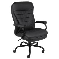 Boss Heavy-Duty Big & Tall High-Back Chair, Black