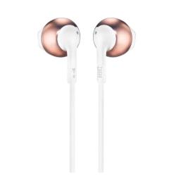 JBL In-Ear Headphones With Microphone, JBLT205RGD