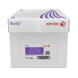 """Xerox® Bold Digital™ Super Gloss Cover, Tabloid Extra Size (18"""" x 12""""), 92 (U.S.) Brightness, 10 Pt (219 gsm), FSC® Certified, Ream Of 250 Sheets, Case Of 4 Reams"""