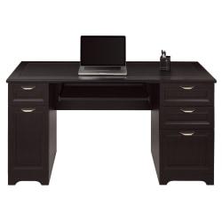 "Realspace® Magellan 59""W Managers Desk, Espresso"